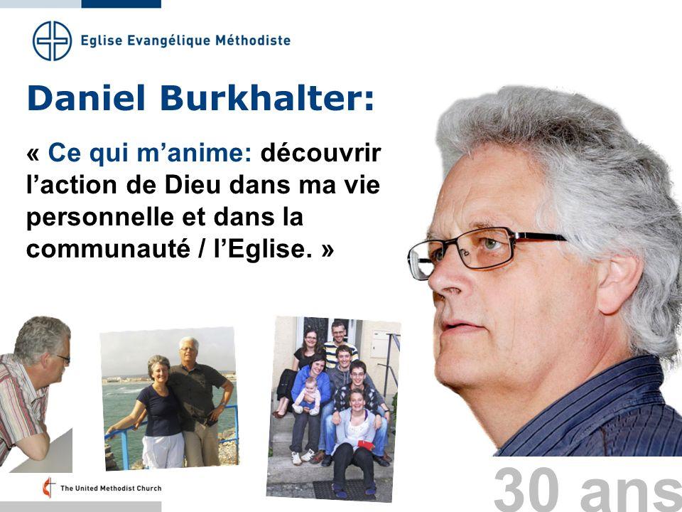 30 ans Daniel Burkhalter:
