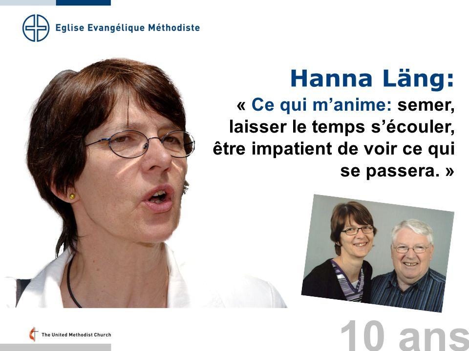 Hanna Läng: « Ce qui m'anime: semer, laisser le temps s'écouler, être impatient de voir ce qui se passera. »