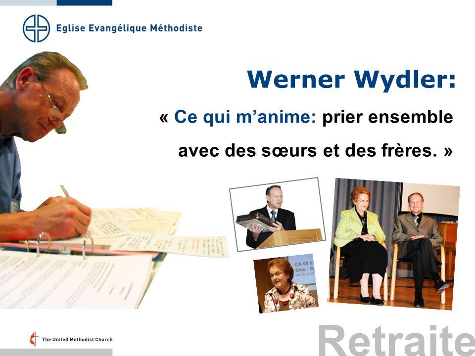 Retraite Werner Wydler: