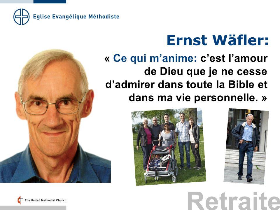 Retraite Ernst Wäfler: