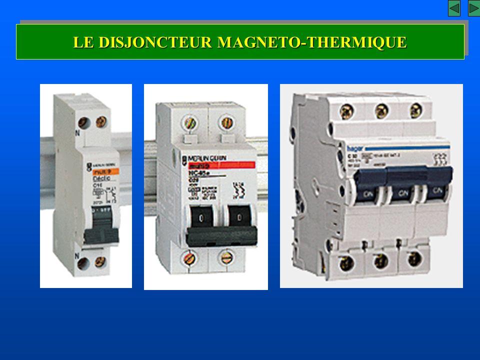 L 39 appareillage de protection ppt video online t l charger - Disjoncteur magneto thermique ...