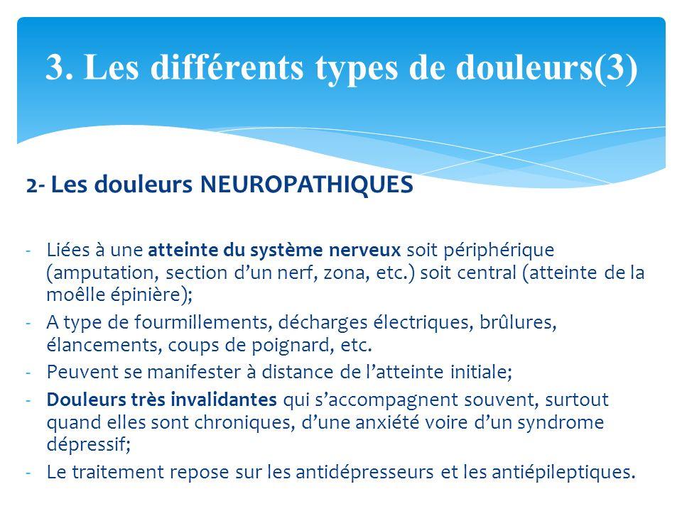 les types de douleurs pdf
