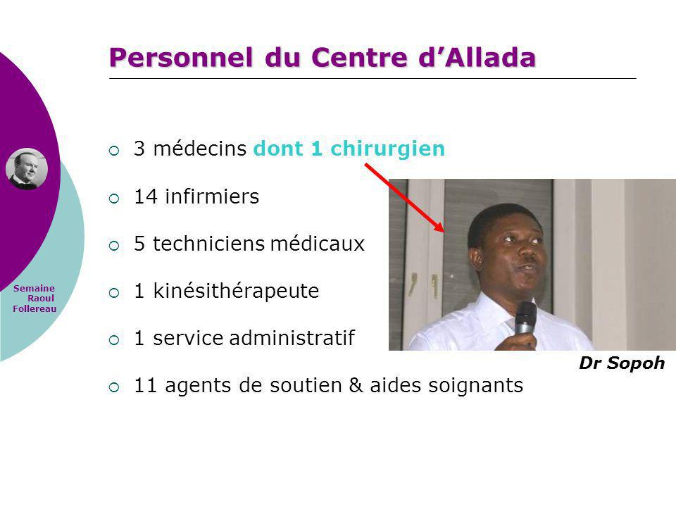 Personnel du Centre d'Allada