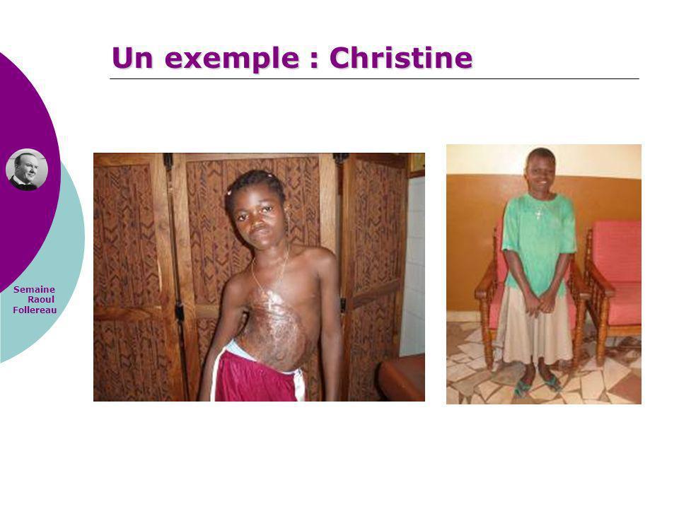 Un exemple : Christine