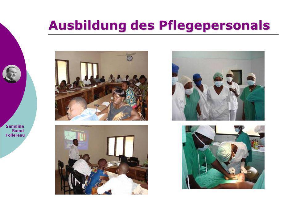 Ausbildung des Pflegepersonals
