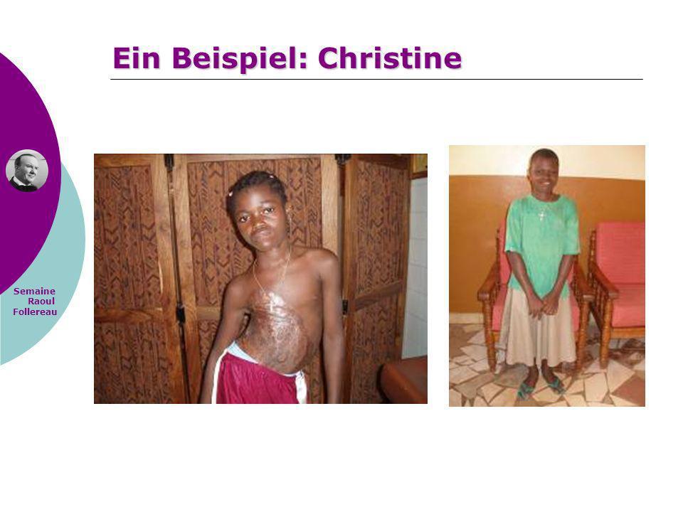 Ein Beispiel: Christine