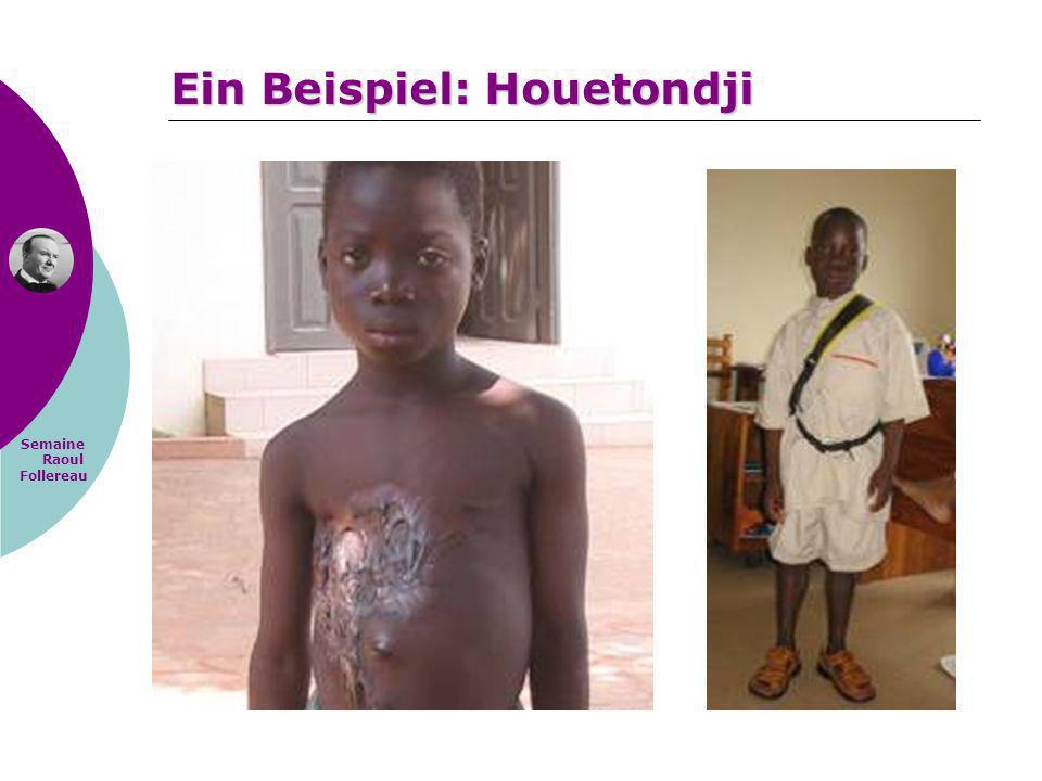 Ein Beispiel: Houetondji