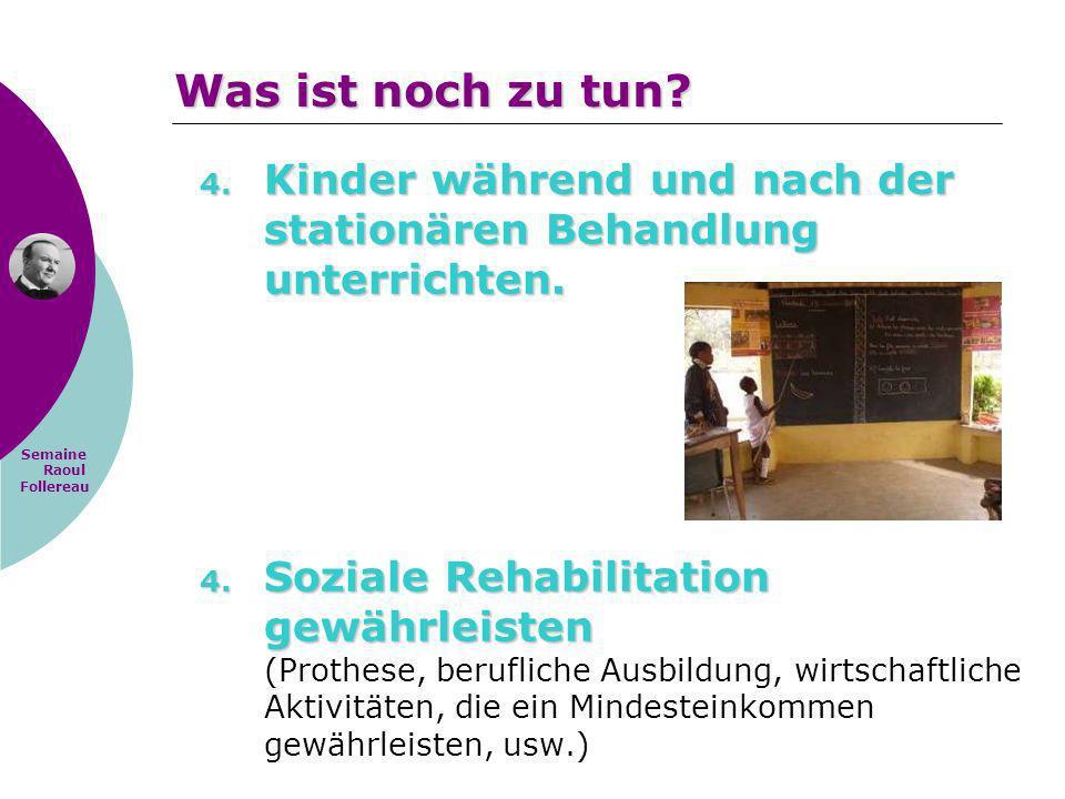 Was ist noch zu tun Kinder während und nach der stationären Behandlung unterrichten.