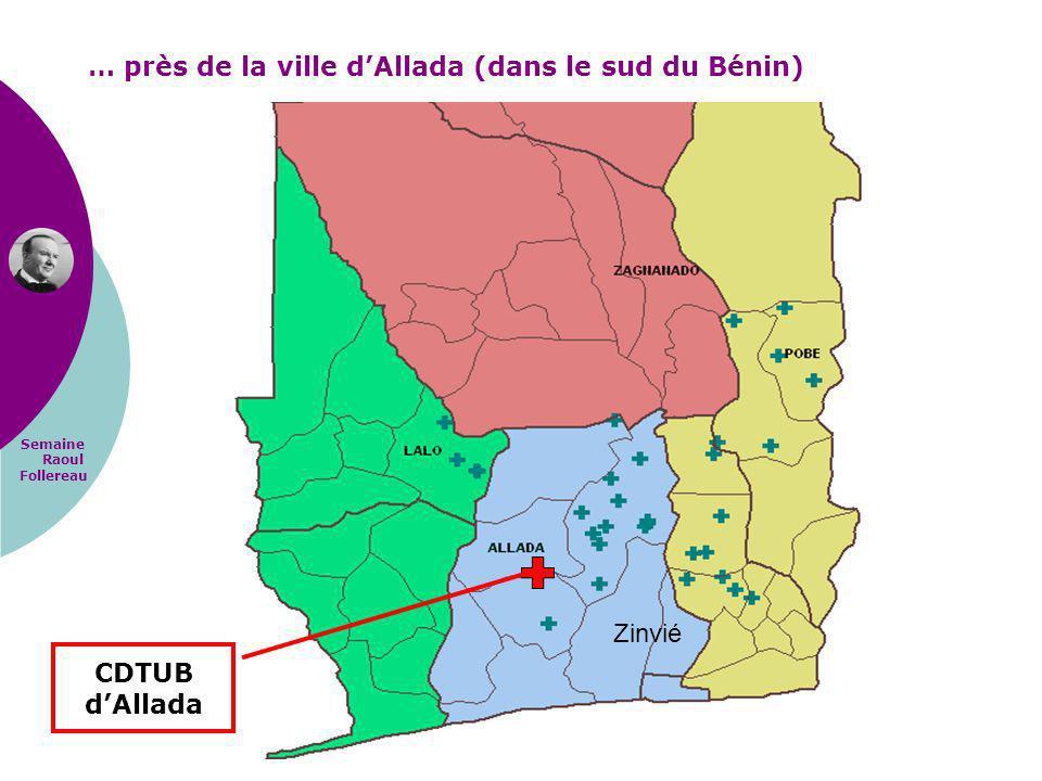 … près de la ville d'Allada (dans le sud du Bénin)
