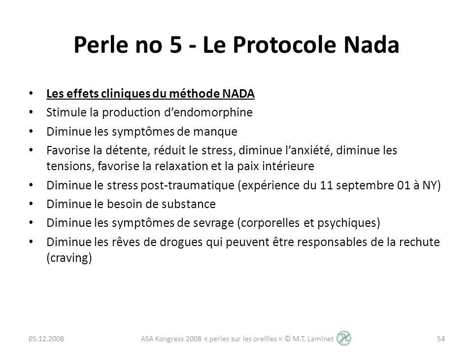 Perle no 5 - Le Protocole Nada
