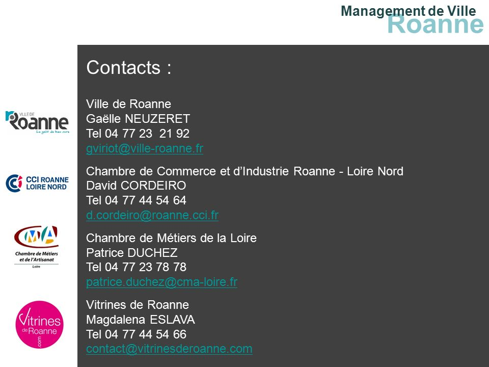 Management De Ville Roanne  Ppt Tlcharger