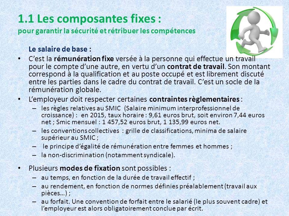 Th me 1 mobilisation motivation question de gestion 3 - Grille de salaire securite ...