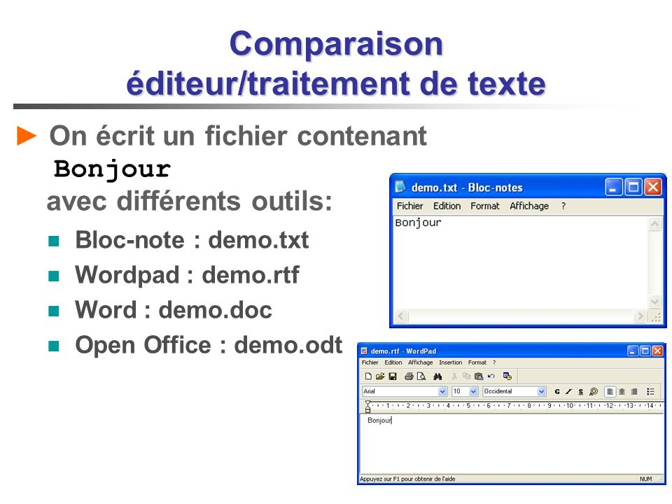 Traitement de texte et pr ao ppt video online t l charger - Telecharger traitement de texte open office ...