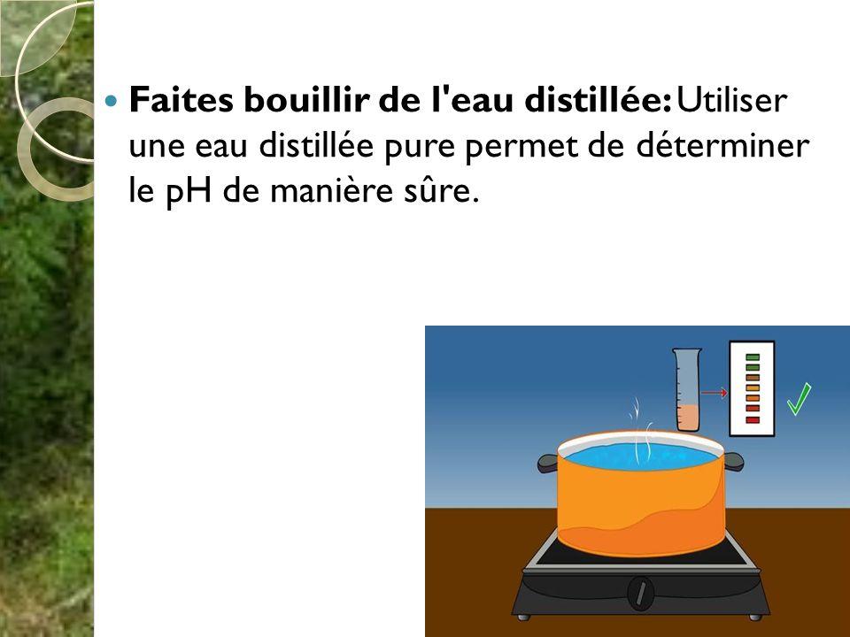 Les propri t s chimiques du sol ppt video online t l charger - Eau distillee ou demineralisee ...