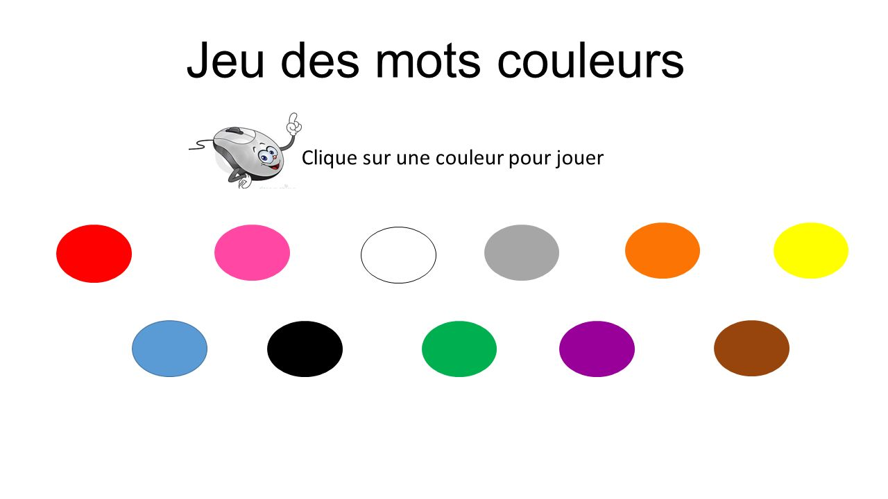 Clique sur une couleur pour jouer