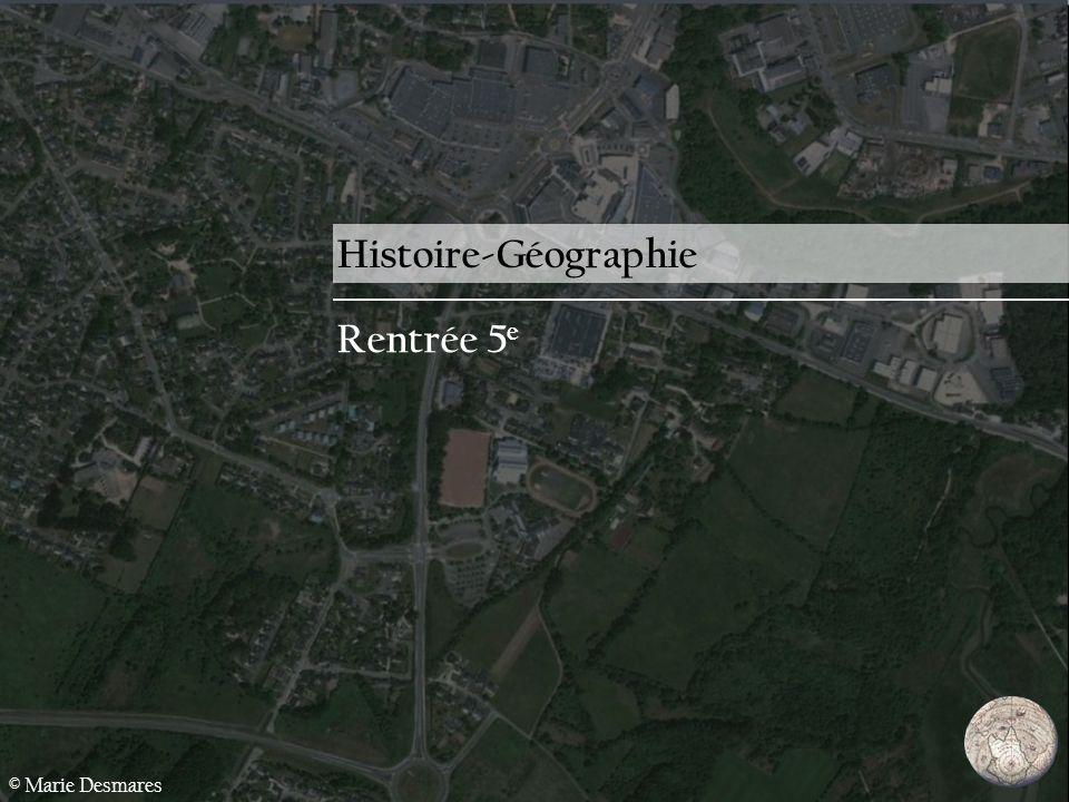 Histoire-Géographie Rentrée 5e © Marie Desmares