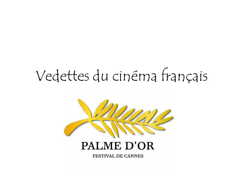 Vedettes du cinéma français