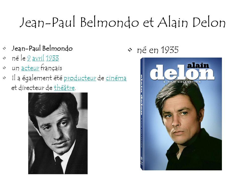 Jean-Paul Belmondo et Alain Delon