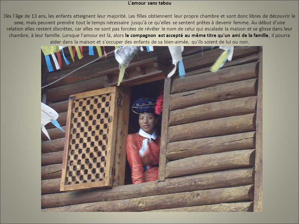 La d couverte des mosos cette tribu o les femmes for Chambre sans fenetre est ce legal