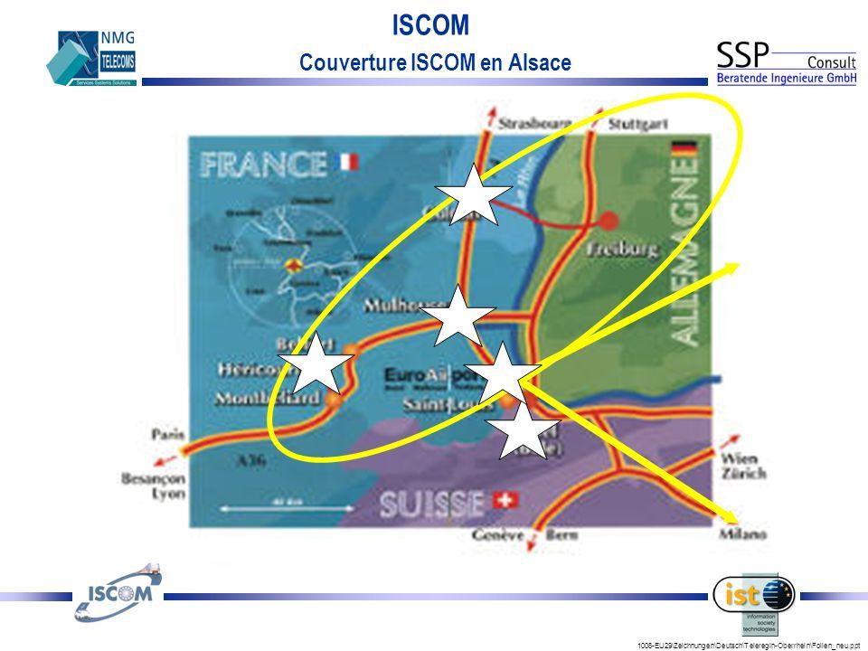 Couverture ISCOM en Alsace