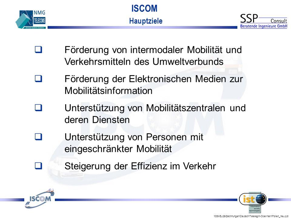 Förderung der Elektronischen Medien zur Mobilitätsinformation