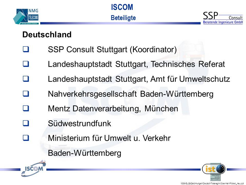 SSP Consult Stuttgart (Koordinator)