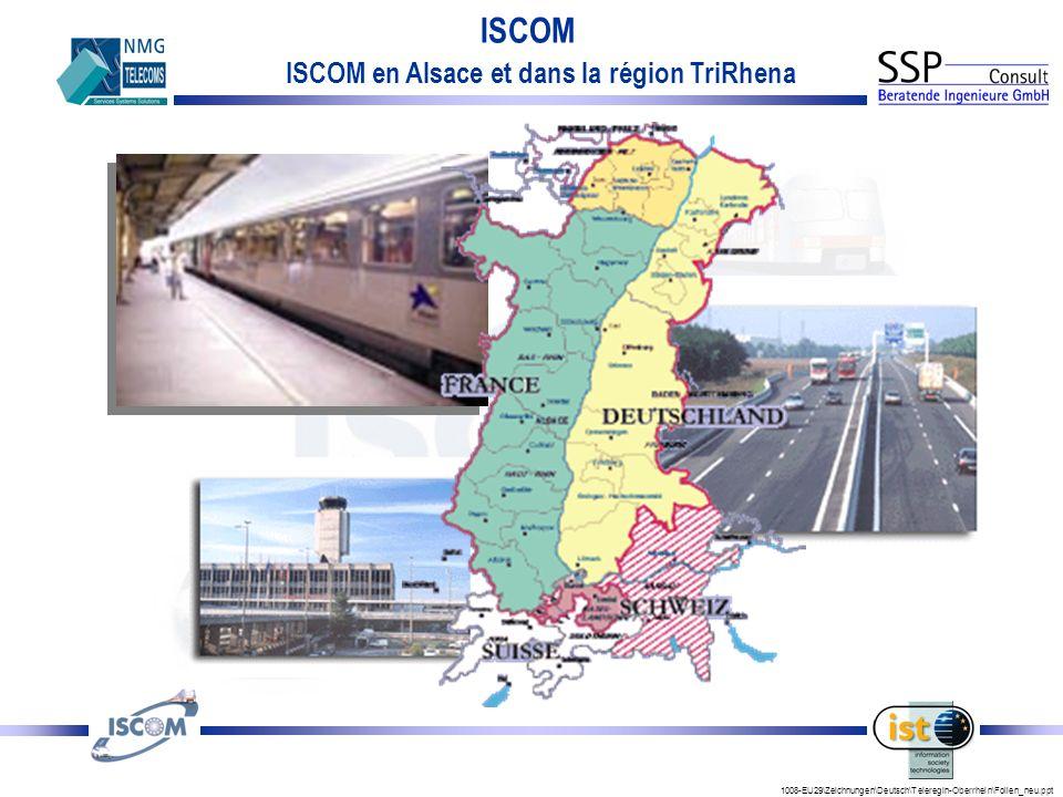 ISCOM en Alsace et dans la région TriRhena