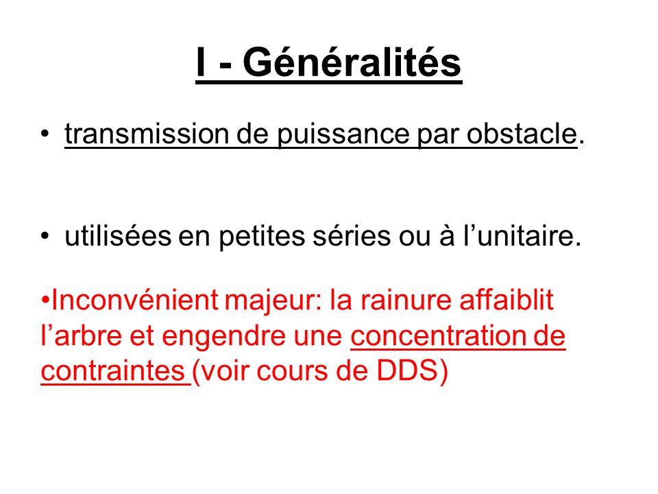 I - Généralités transmission de puissance par obstacle.