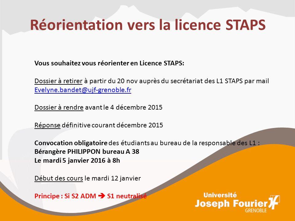 S ance d information sur les possibilit s de r orientation for Bureau de licence