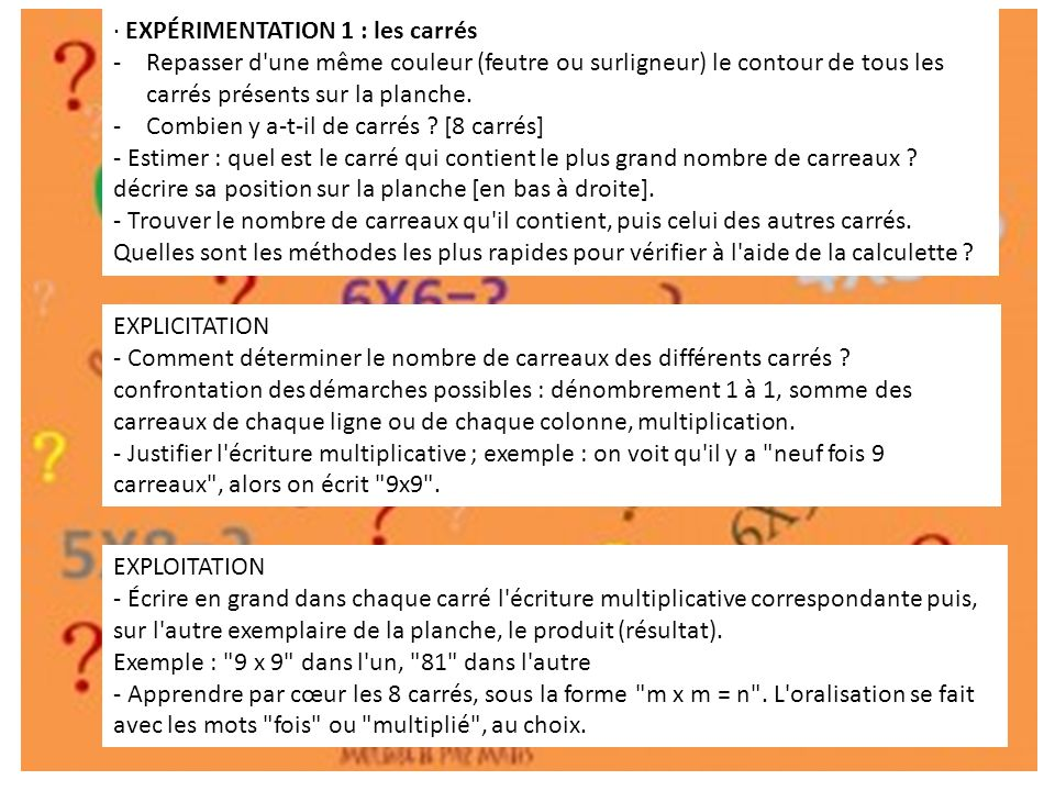 Apprendre les tables de multiplication ppt video online - Comment apprendre les tables de multiplication par coeur ...