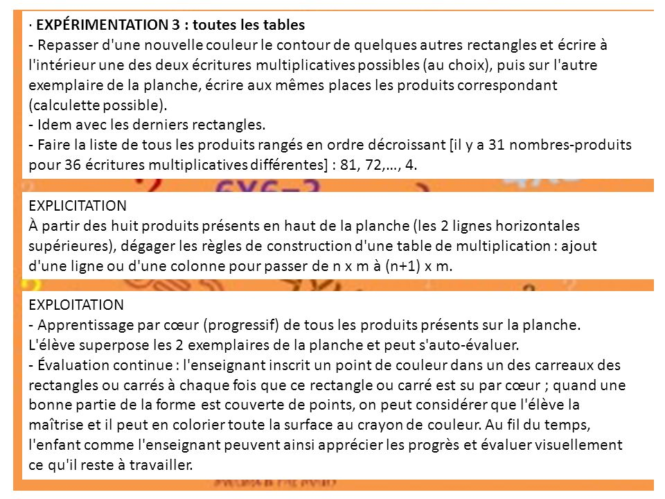 Apprendre les tables de multiplication ppt video online - Toute les table de multiplication de 1 a 10 ...