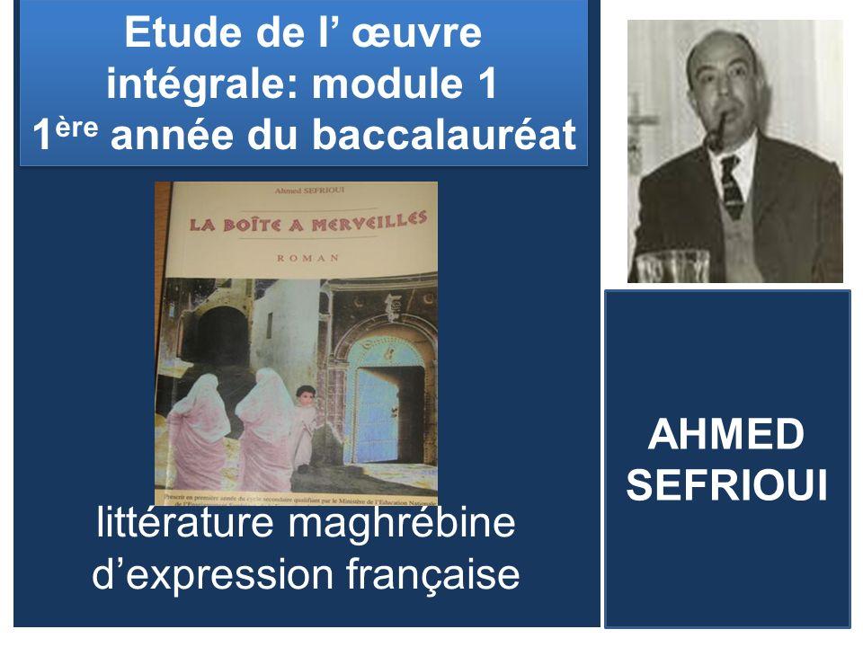 littérature maghrébine d'expression française
