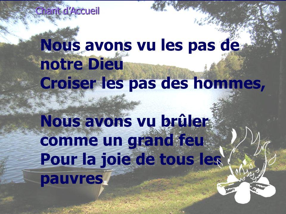 Chant d'Accueil