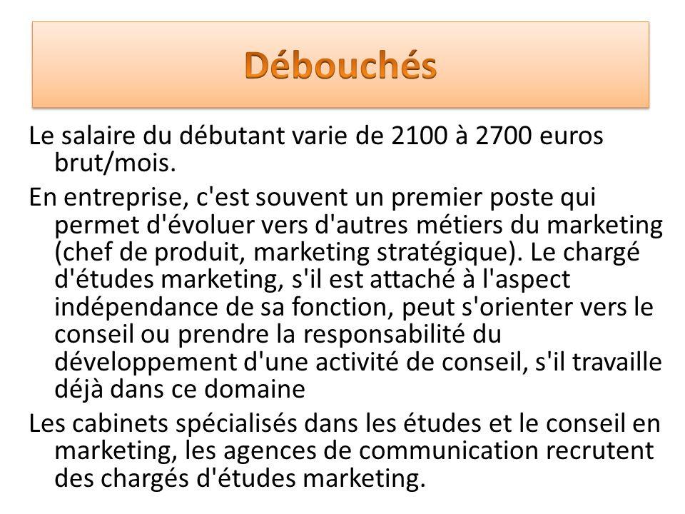Charg e d 39 tudes en marketing ppt video online t l charger - Cabinet de conseil en developpement international ...