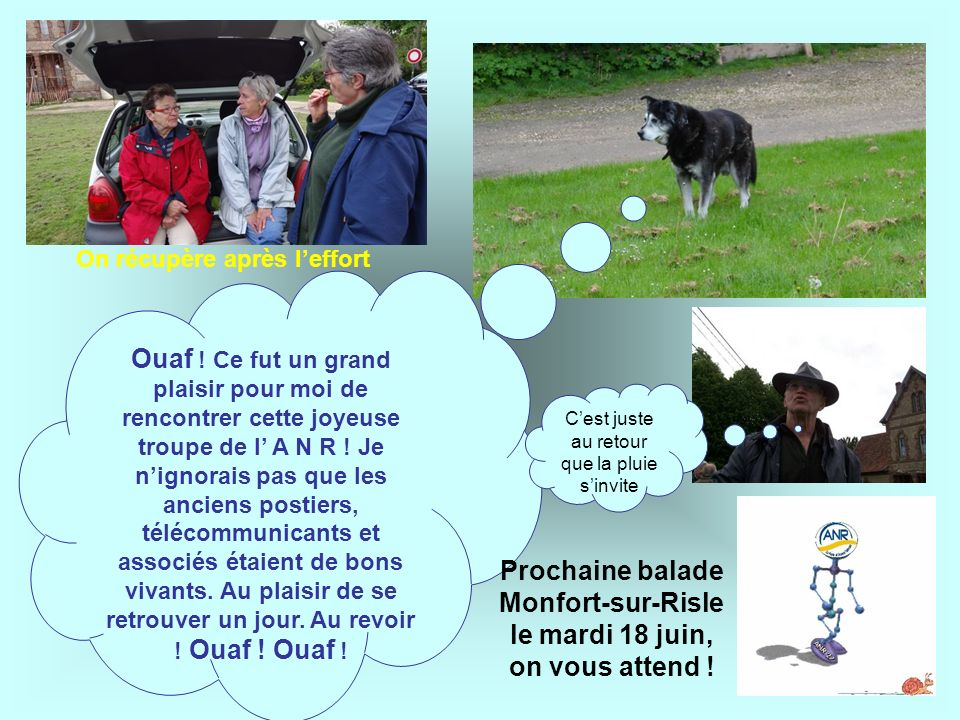 Prochaine balade Monfort-sur-Risle le mardi 18 juin, on vous attend !
