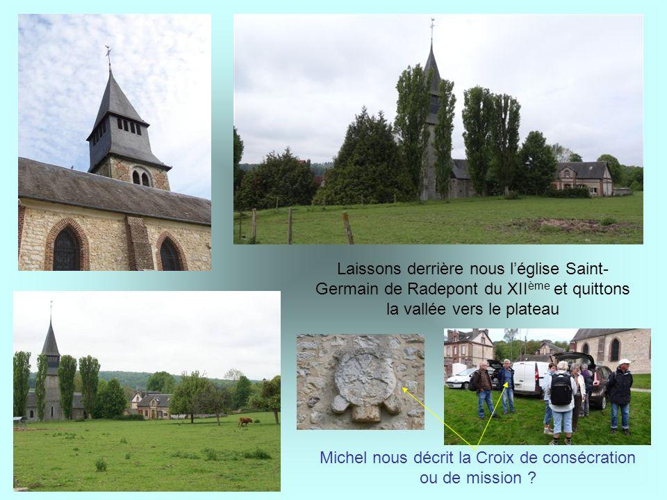Michel nous décrit la Croix de consécration ou de mission