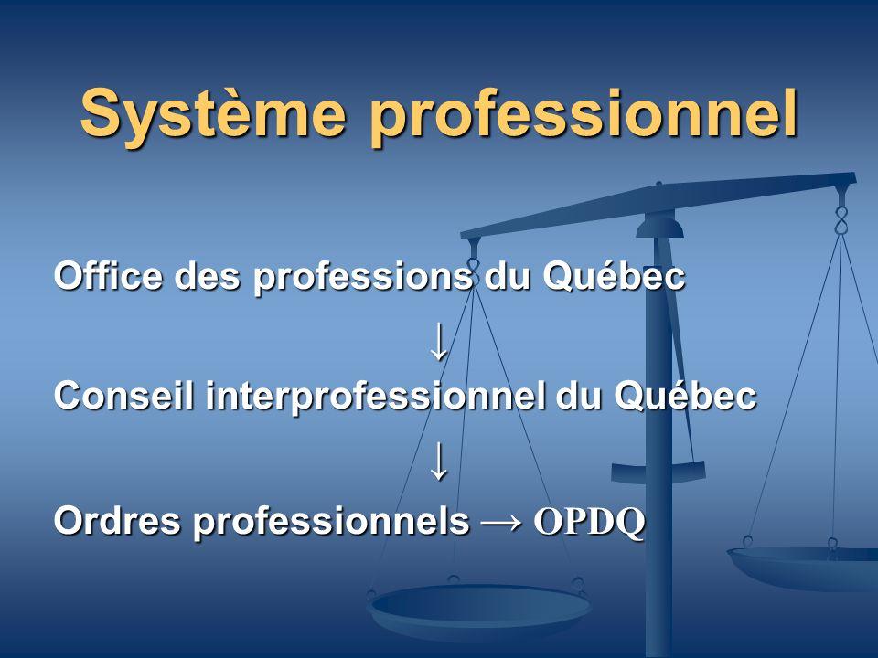 Système professionnel