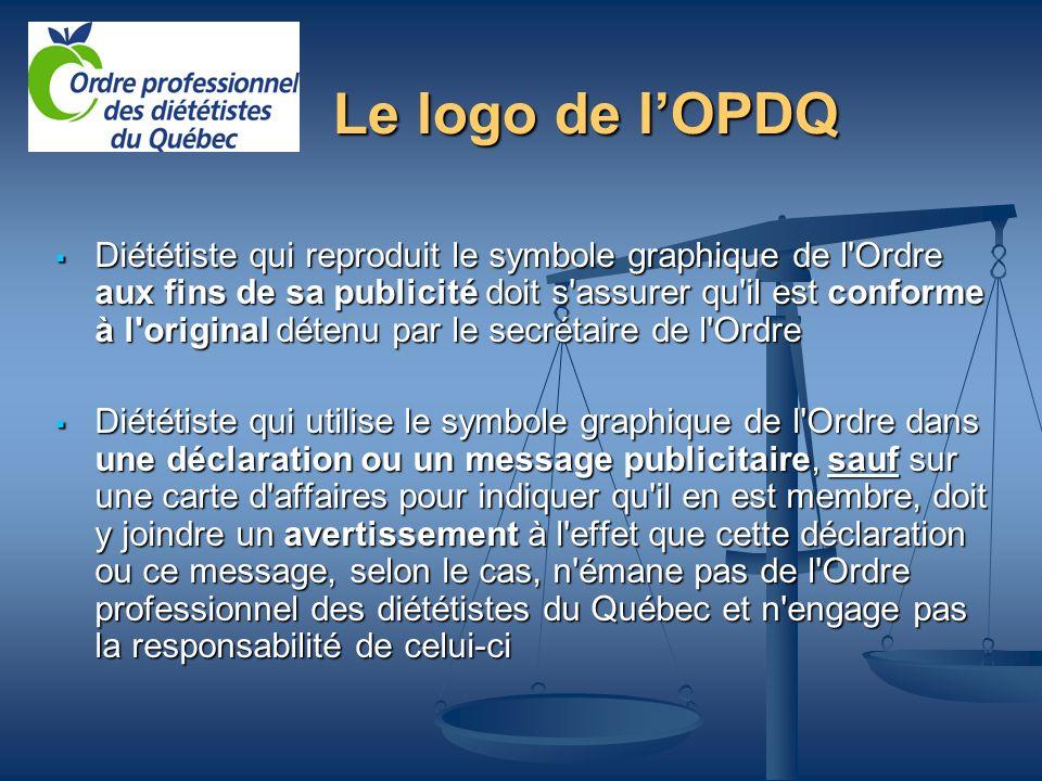 Le logo de l'OPDQ