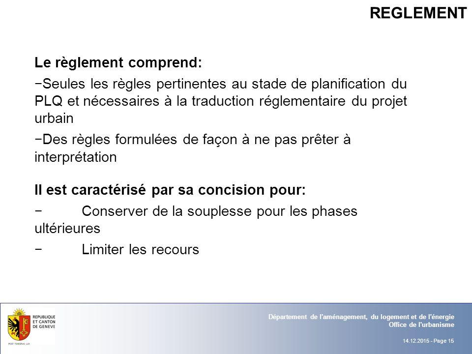 Reforme du plan localise de quartier sia section gen ve for Regle de l urbanisme