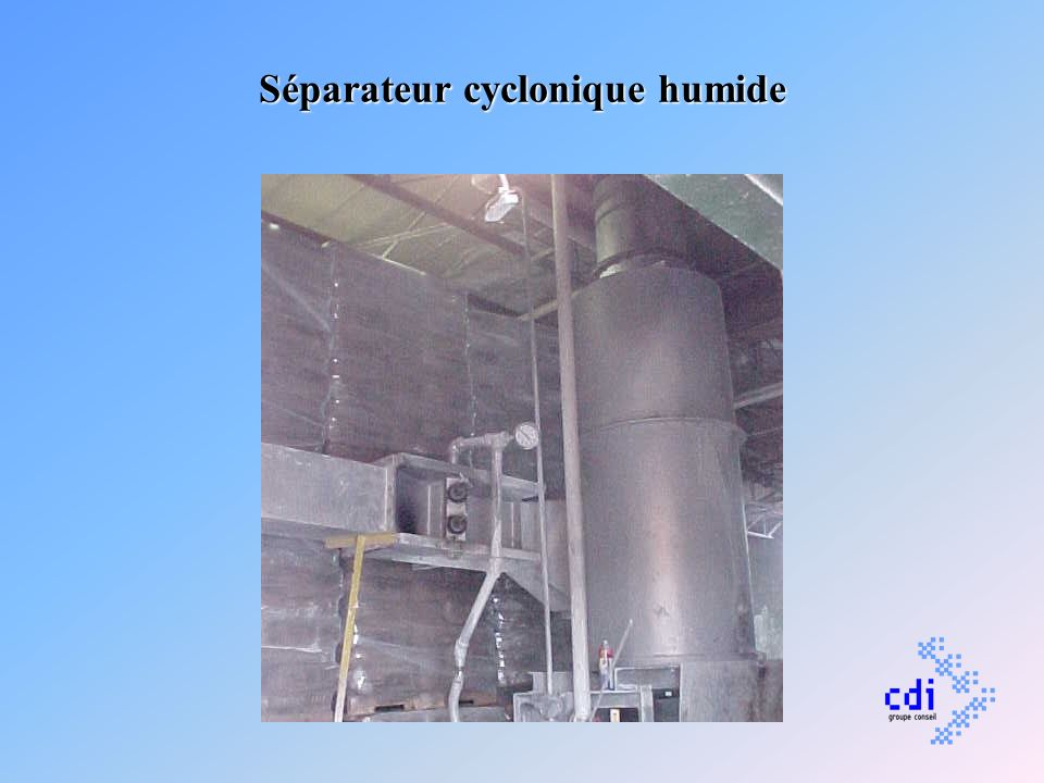 Séparateur cyclonique humide