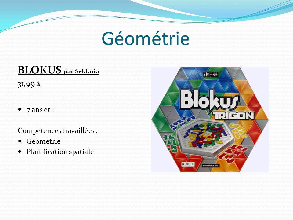 Géométrie BLOKUS par Sekkoia 31,99 $ 7 ans et +