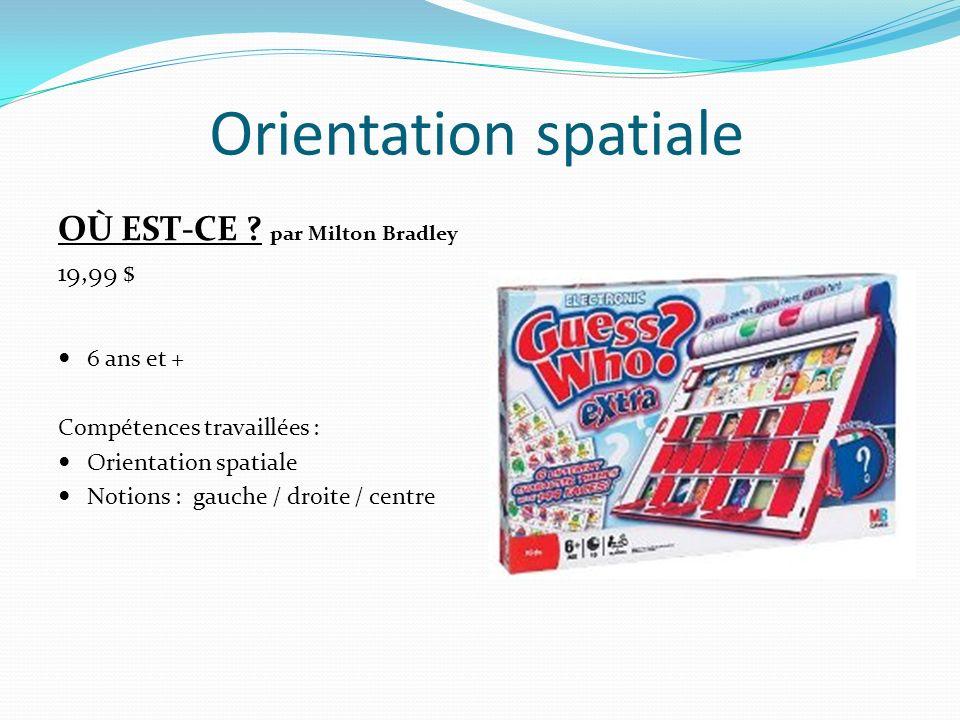Orientation spatiale OÙ EST-CE par Milton Bradley 19,99 $ 6 ans et +