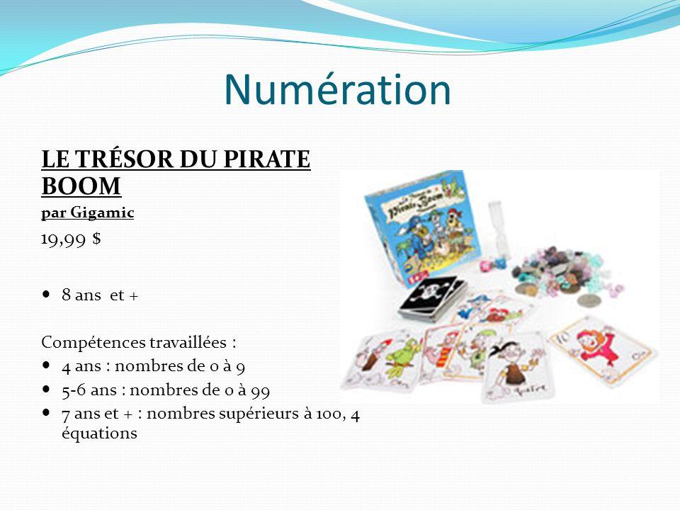 Numération LE TRÉSOR DU PIRATE BOOM 19,99 $ 8 ans et +