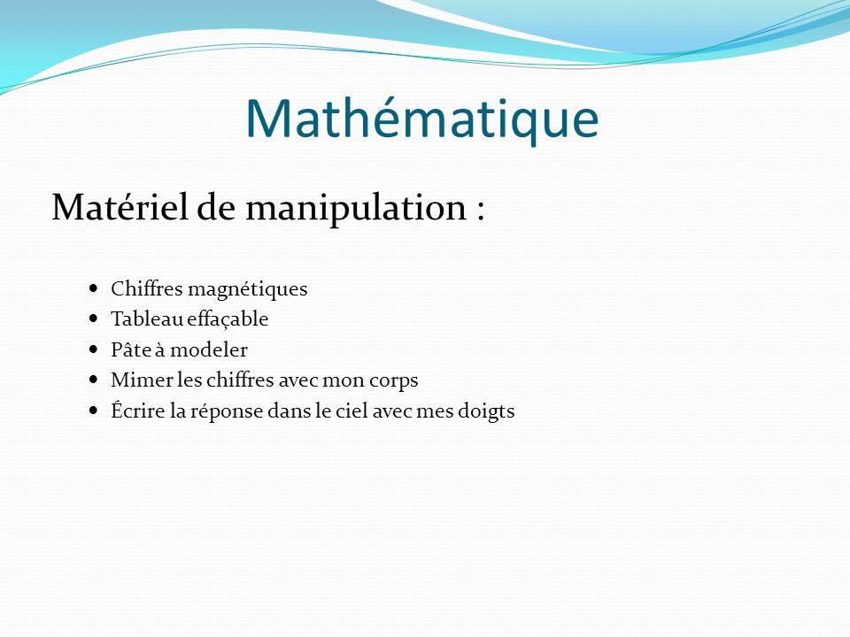 Mathématique Matériel de manipulation : Chiffres magnétiques