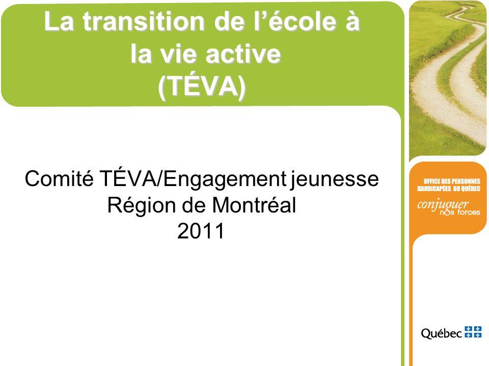 La transition de l'école à la vie active (TÉVA)