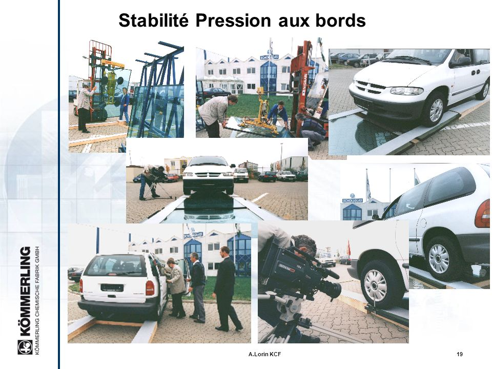 Stabilité Pression aux bords