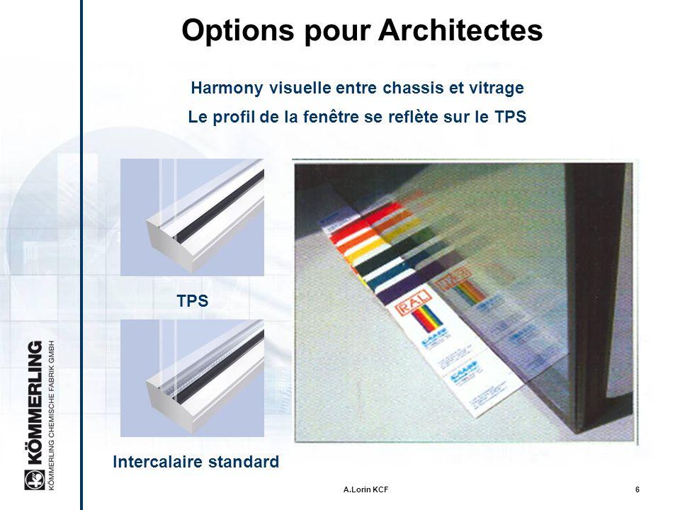 Options pour Architectes