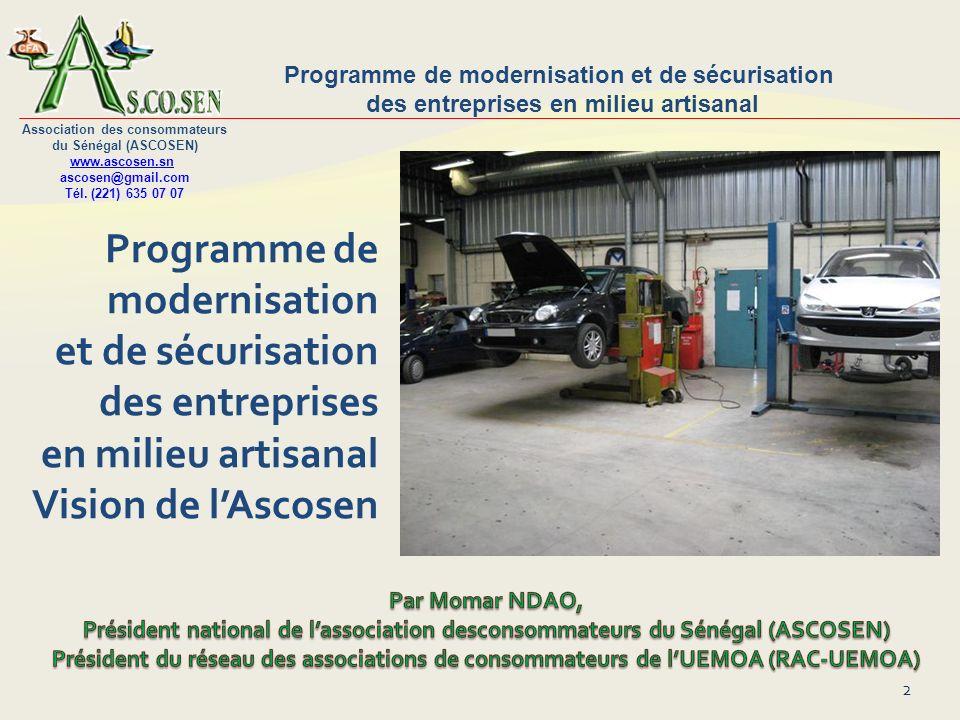 Programme de modernisation et de sécurisation des entreprises