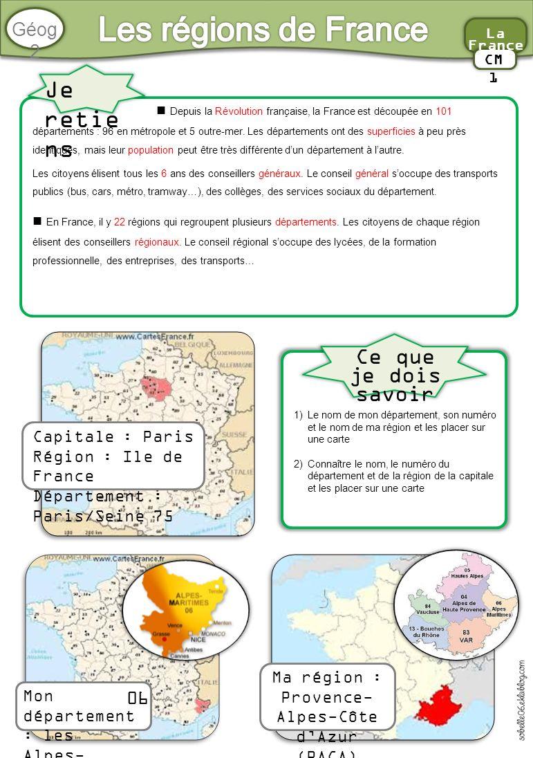 Bien-aimé Les départements de France - ppt video online télécharger SC72