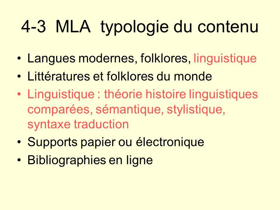 4-3 MLA typologie du contenu